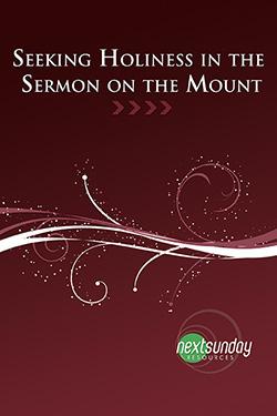 NextSunday Study Seeking Holiness in the Sermon on the Mount